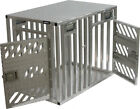 ActiveDogs Full Vent Double Door Aluminum Dog Crate - Airline Approved