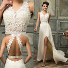 Beige Formal Prom Dresses Long Cocktail Party Ball Gown Evening Bridesmaid 6-20