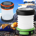 Portable LED Solar Panel Camping Lantern Bulb Fishing Outdoor Hiking Light USB