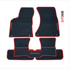 red and black car mats - Genuine 2009-2018 year Audi Q5 Factory Rubber Floor Mats OEM Factory