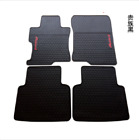 red and black car mats - Genuine 2013-2017 year Honda Accord Factory Rubber Floor Mats OEM Factory