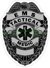 Tactical Medic Reflective Decal Sticker Paramedic EMS Rescue Police SAR