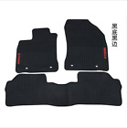 red and black car mats - Genuine For 2011-2017 Lexus CT200h Factory Rubber Floor Mats OEM Factory