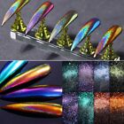 Beauty Chameleon Holographic Mirror Nail Art Glitter Powder Chrome Pigment Dust