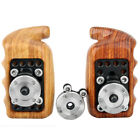 NICEYRIG Wooden Handle Grip w/ ARRI Style Rosette Mount Adapter for Camera Cage