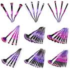 GUJHUI 1/4/8/10Pcs Wave Handle Mini Large Fan Eyeshadow Makeup Brush ED 32