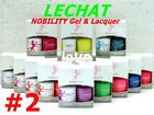 LECHAT NOBILITY LED/UV GelColor & Free Nail Polish Duo Set #2 /Choose Any Color