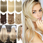 AU Secret Headband Wire in Natural Hair Extensions Invisible As Human Hair T99