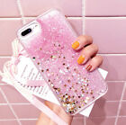 Glitter Bling Moving Stars Liquid Hard Phone Back Case Cover For iPhone 6s 5 8 7