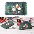 Cartoon Print Vintage Style Clutch Long Wallet Purse KECP