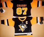 Pittsburgh Penguins Toddler Sidney Crosby NHL Hockey Jersey