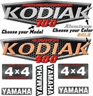 Yamaha Kodiak 400 450 700 Oem Atv Tank Decal Graphic Sticker Kit Upgrade 4x4