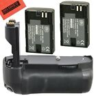 Battery Grip Kit for Canon EOS 7D Digital SLR Camera Includes Qty 2...
