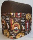 Quilted Morning Coffee Kitchenaid 7qt Stand Mixer Cover w/Pockets READY TO SHIP!