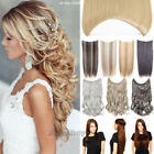 Thick Invisible Wire Secret 1 Pcs Headband Real As Remy Human Hair Extensions FY