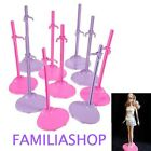 Lot 10 Support Stand Display For Doll Barbie Steffie Or Winx New