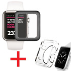 3D Full Cover Tempered Glass Screen Protector for Apple Watch iWatch 38mm 42mm