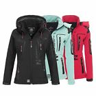 Geographical Norway Tislande Damen Softshell Jacke Outdoor Funktionsjacke