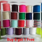 0.8mm Nylon Cord Thread String For Beading Trimming Sewing Jewellery Shamballa