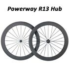 Super Light 50mm Depth Tubular Wheelset Carbon Wheels 700C 3K Glossy or Matte