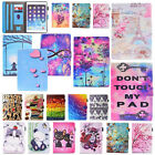 For iPad Mini/iPad 9.7''Smart Pattern Magnetic Leather Wallet Stand Cover Case