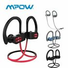 Mpow Bluetooth Earbuds Best Wireless Headphones Running Sports Gym SWEATPROOF US
