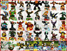 Skylanders Giants Figurines Selection For: PS3, PS4, Xbox, Wii, DSi, U, Elite,