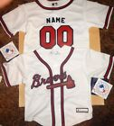 Atlanta Braves MLB Infant Replica Jersey add any name  number