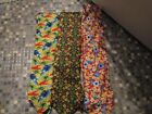 MENS FLORAL 100% SILK TIES CHOICE OF DESIGNS SHELLS SEAHORSES BRAND NEW
