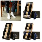 5 Pairs Men Warm Cotton Socks Winter Spring New Small Point/Dotted Line Design