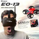 Eachine E013 Micro FPV RC Racing Quadcopter Drone 6-Axis 4CH With Goggles Toy