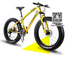26 inch mountain bike fat tire,in stock 7 speed Variable speed snow bicycle