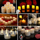 small battery operated led lights - LED Tea Lights Battery Operated Fake Candles Flameless Flickering Decor Festival