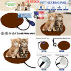 Pets Dogs Electric Heating Warm Mat Pad Blanket Bed Cat Safe Heat Thermal Pillow