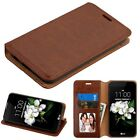 For LG Aristo 2 K8 2018 Dynasty Leather Wallet Flip Protective Pouch Case Cover