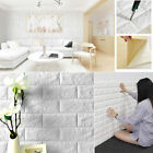 3D Wall Stickers Home Decor Wallpaper DIY Wall Brick Living Room Bedroom Decor