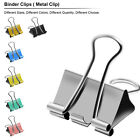 Kyпить Binder Clips of 3/4 5/4 2 in, Colored paper clamp, Assorted Sizes assortment на еВаy.соm
