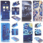 Tardis Doctor Who Design Wallet Leather case for LG G4 p1312