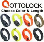 OttoLock Cinch Combination Lock w/Kevlar &Steel Otto Assrtd Choose Length&Color