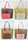 NWT! Coach Reversible Large PVC Leather Tote Bag F36658