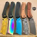 "8"" Tactical CLEAVER Razor Spring Assisted Open Folding Blade Pocket Knife New"