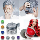Colorful Silver Grey Color Hair Wax Men Women Dye Gray Mud styling Maker Sales
