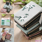 2018 Women Leather Floral Cash Wallet Pocket Photo Mini Clutch Short Purse
