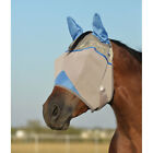 Cashel Crusader Standard Blue Fly Mask with Ears