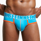 Men's Breathable Boxer Briefs Underpants Knickers Soft Shorts Pouch Underwear