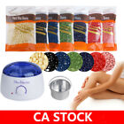 Wax Warmer Heater Machine +300g Waxing Beans +12pcs Hair Removal Sticks Set CA