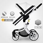 stroller 2 in 1 - 2 in 1 Baby Stroller Newborn Carriage Infant Travel Car Foldable Pram Pushchair