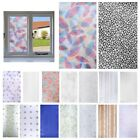 PVC Frosted Glass Door Window Privacy Self Adhesive Film Sticker Bathroom Decor