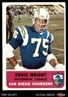 1962 Fleer #83 Ernie Wright Chargers VG/EX $13.0 USD on eBay