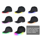 LED Lighted up Hat Glow Club Party Baseball Hip-Hop Golf Adjustable Sports Cap